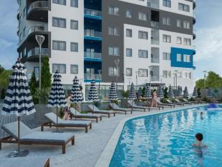 Exclusive apartments in Cleopatra Twin Tower, Alanya (0)